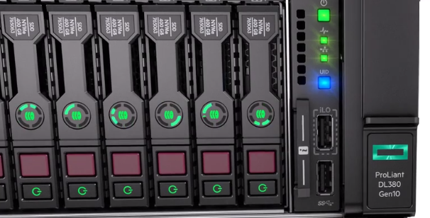 نصب درایو NVMe برروی سرور HPE DL380 Gen 10