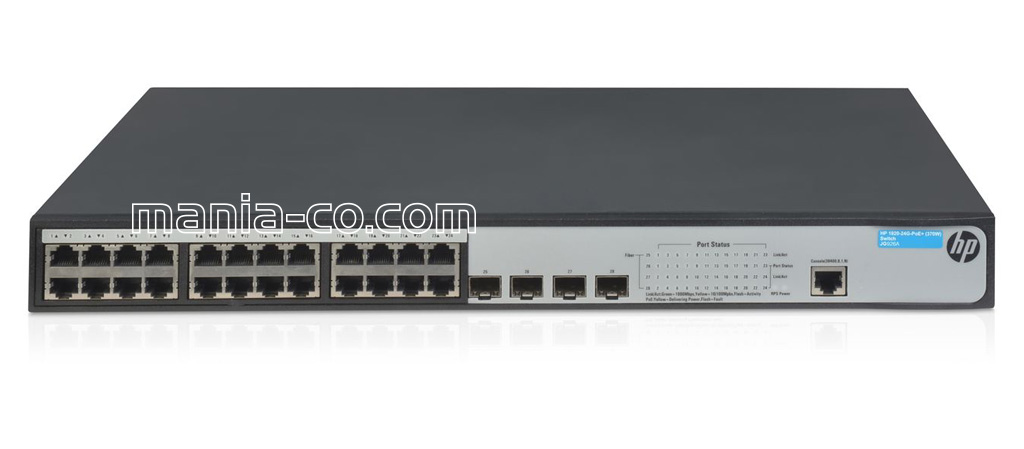JG926A / HP 1920-24G-PoE+ (370W) Switch