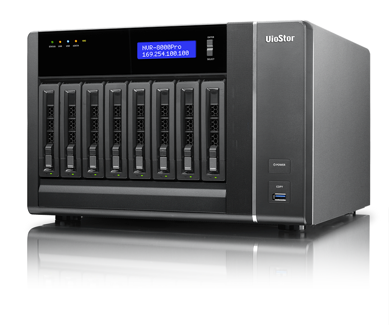 QNAP VioStor NVR 8-Bay Tower