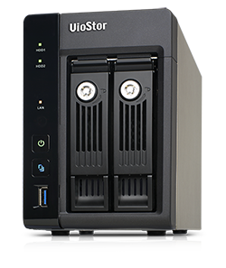 QNAP VioStor NVR 2-BAY Tower