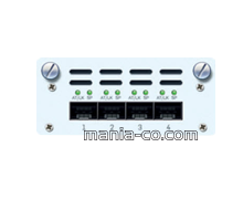 4 port 10 GbE SFP+FleXi Port module