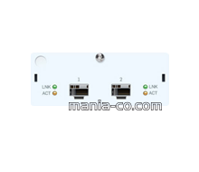 2 port10 GbE SFP+FleXi Port module