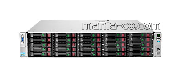 HP ProLiant Server DL380p 25SFF G8