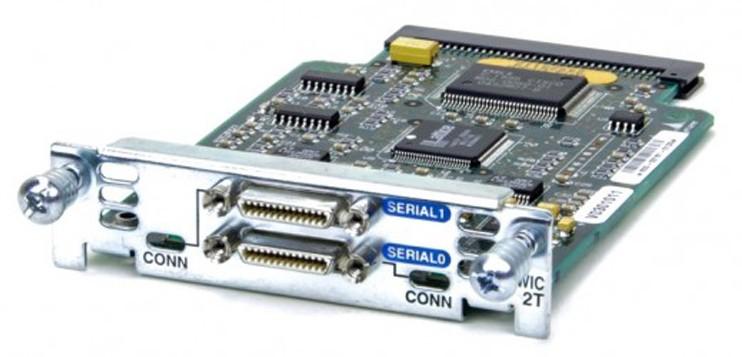 HWIC-2t module
