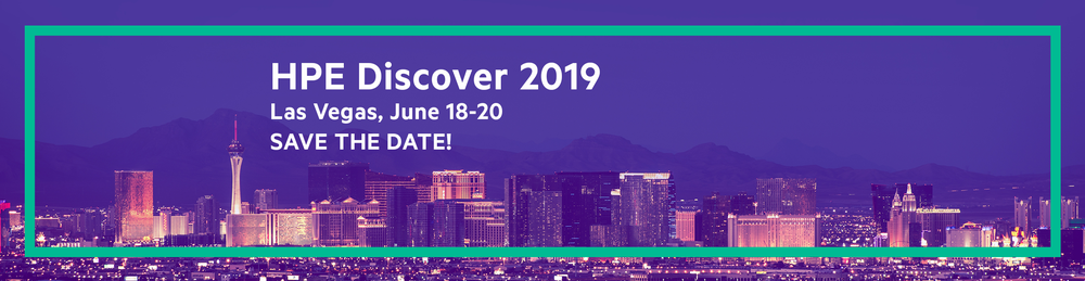 HPE Discover 2019 Las Vegas