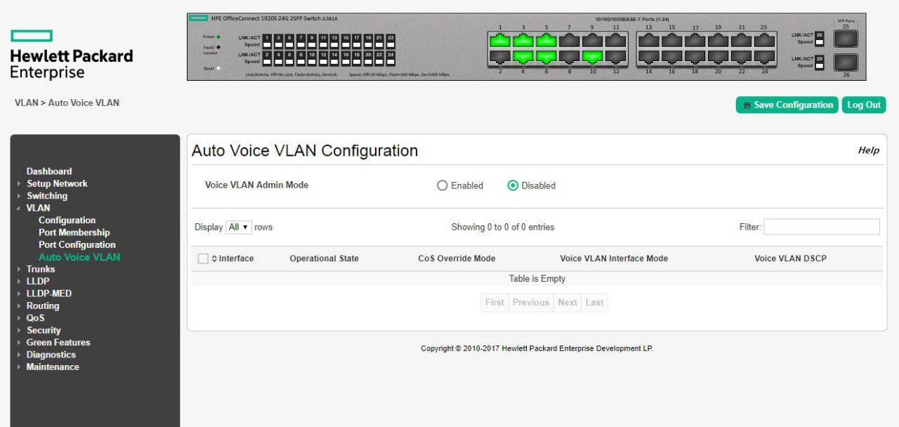 Auto Voice VLAN