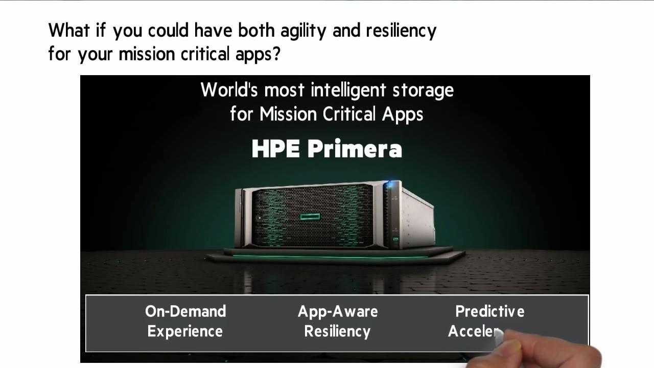 معرفی HPE Primera