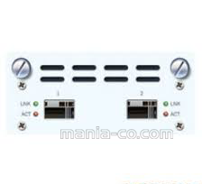 2Port 10GbE SFP+ Flexi port Mudule