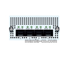 4 port 10 GbE SFP+FleXi Port module for XG 750