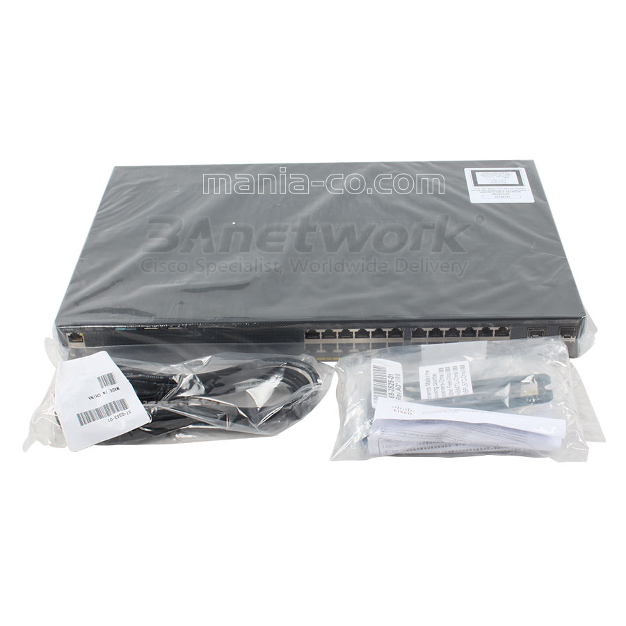 Cisco Catalyst 2960 Series Switch Wsc296024ttl Ws C2960x 24ts L